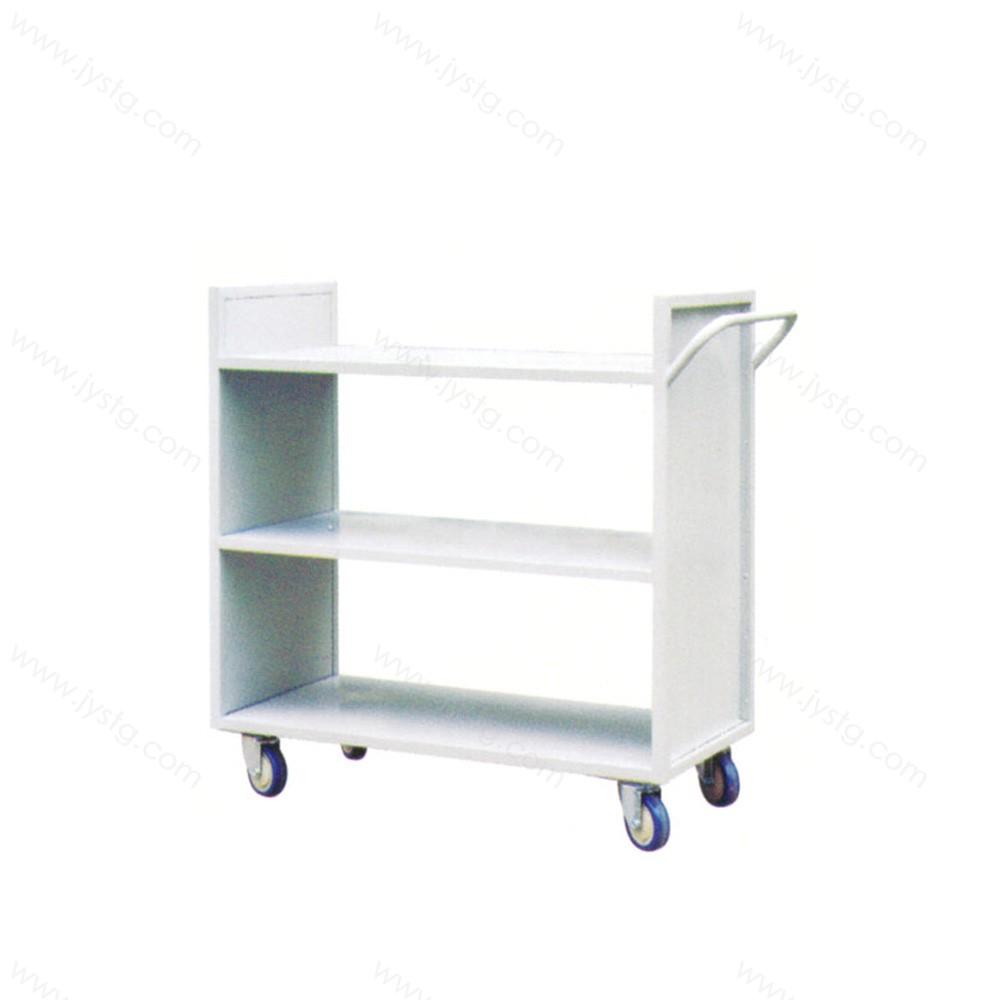 移动带轮钢制迷你小型矮书架 SJ-13#