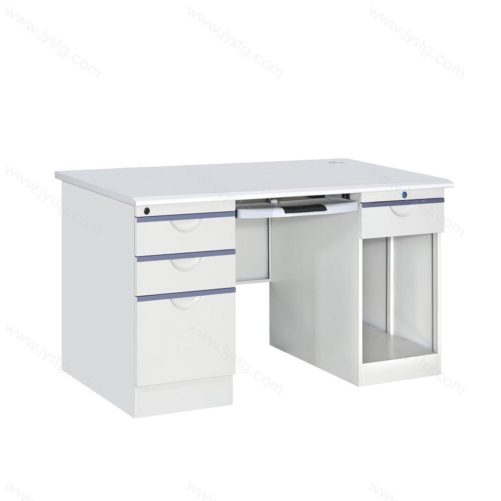 财务桌子带锁带抽屉 GZBGZ-03#