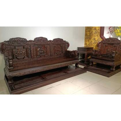 古典红木加大   加高加长沙发
