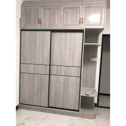 全铝定制家具 卧室全铝推开门衣橱衣柜定制厂家直销