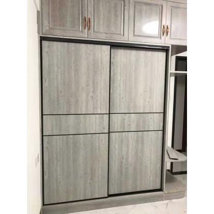 北京百家邦全铝定制简约衣橱 衣柜