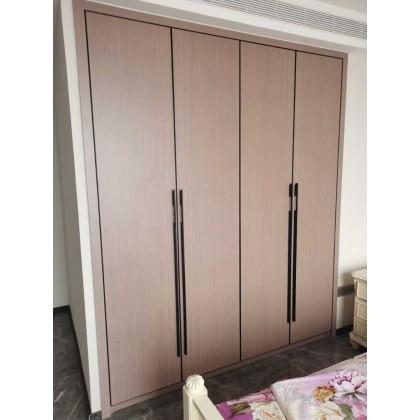 全铝厂家定制销售现代简约衣橱衣柜 整体家具