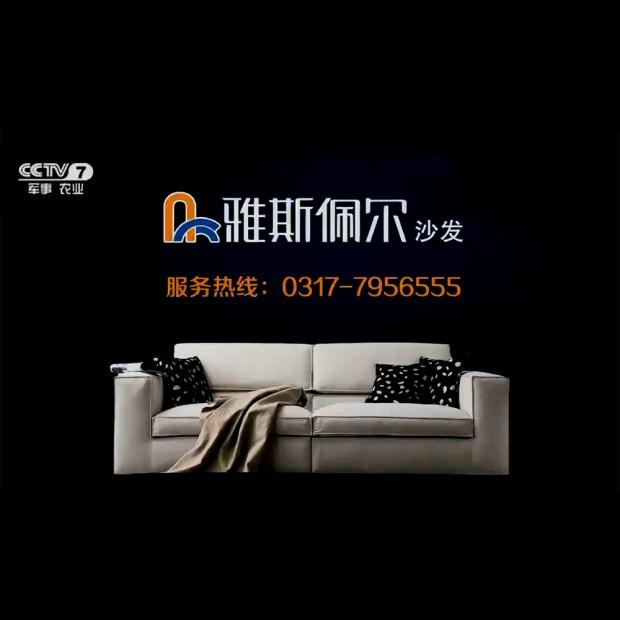 雅斯佩尔沙发中央7套电视广告 (20播放)