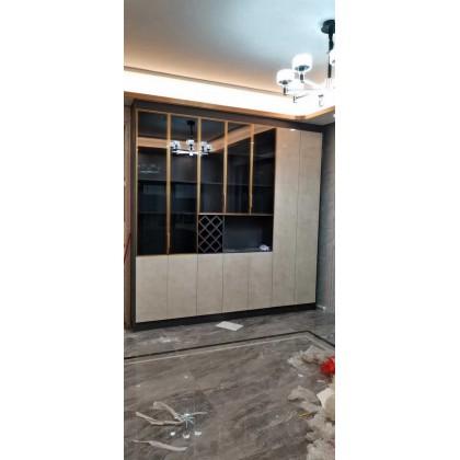北京全铝定制家具 全铝厂家直销玻璃门全铝酒柜