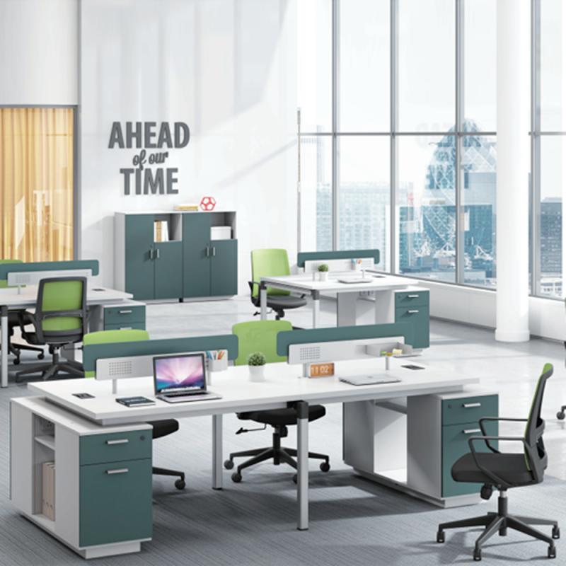 ZYZ-10 板式四人位办公桌