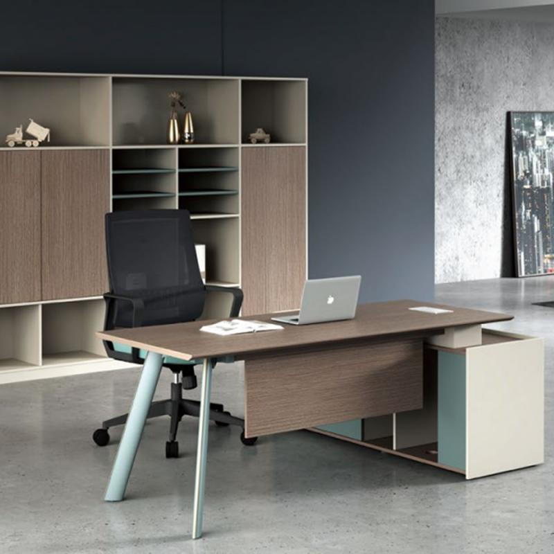 JLZ-08 办公桌椅文件柜组合