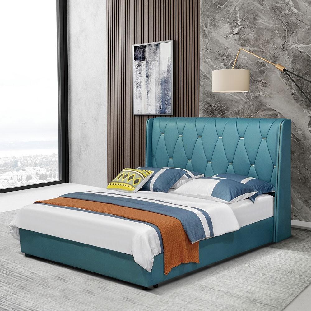 8090# 轻奢超纤皮软床